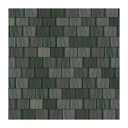 Grey Roof Tiles Quality Exterior Paper 430 x 950mm for 1:12 Scale Dolls House