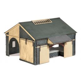 Peco Stone Goods Shed (155mm x 170mm)