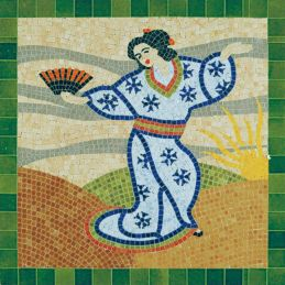 Aedes Ars Japanese Lady Mosaics Kit