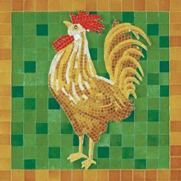 Aedes Ars Rooster Mosaics Kit