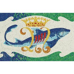 Aedes Ars Dolphin Mosaics Kit