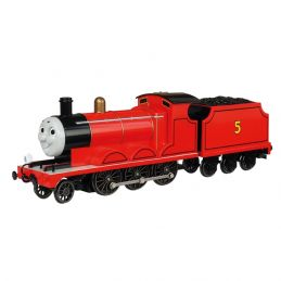 Thomas & Friends James the Red Engine with Moving Eyes OO Gauge