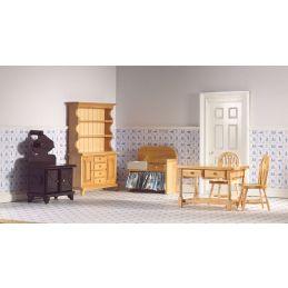 6 Piece Pine Kitchen Set