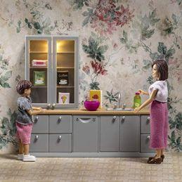 Washup Sink & Dishwasher