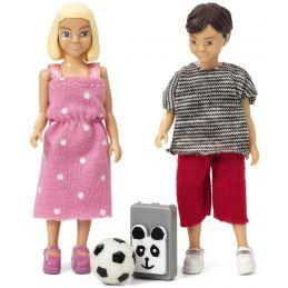 School Girl & Boy
