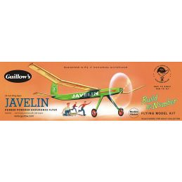 Guillows Javelin Build By Numbers Model Kit