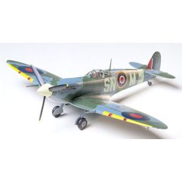 Tamiya Supermarine Spitfire Mk.Vb 1:48th Scale Plastic Model Aircraft Kit