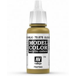 Vallejo Model Color 17ml  Metallic Old Gold