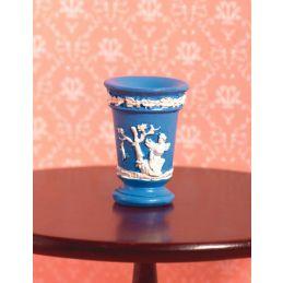 Jasper Blue Vase
