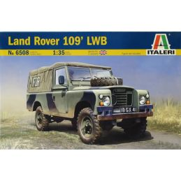 Italeri Land Rover 109' LWB British Royal Army 1:35 Scale Plastic Model Kit - Starter Paint Pack (4 x 17ml Bottles)