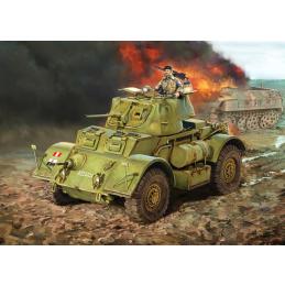 Italeri Staghound Mk.I Armoured Car Late Version Model Kit - Starter Paint Pack (4 x 17ml Bottles)