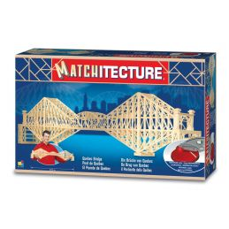 Matchitecture Quebec Bridge Matchstick Kit