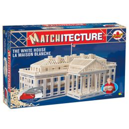 Matchitecture The White House Microbeam Matchstick Kit