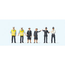 British Police (6) British OO Scale Figure Set