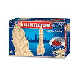 Matchitecture Chrysler Building Matchstick Kit