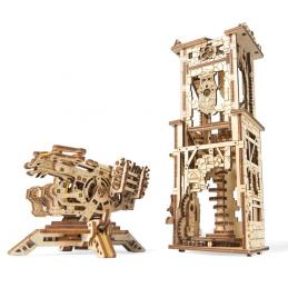 UGears Archballista and Tower