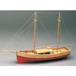 Mantua Models Capri Boat Wooden Model Kit