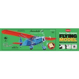Guillows Fairchild 24 Build By Numbers Balsa Kit