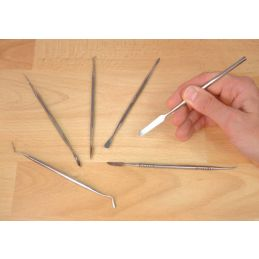 Expo 6 Piece Stainless Steel Wax Carver Set