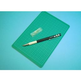 Expo pen knife with cutting mat