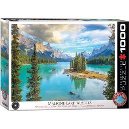 Eurographics Maligne Lake Alberta 1000 Piece Jigsaw
