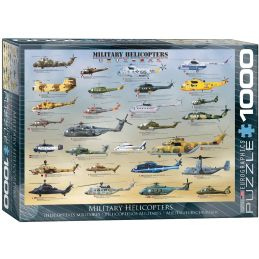 Eurographics Military Helicopters 1000 Piece Jigsaw