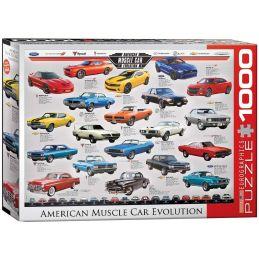 Eurographics Muscle Car Evolution 1000 Piece Jigsaw