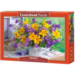 Castorland Bouquet of Lillies and Bellflowers 1000 Piece Jigsaw