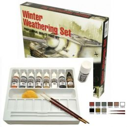 Vallejo Acrylics - Winter Weathering Set