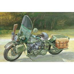 Italeri Harley Davidson WLA 750 US Army WWII Model