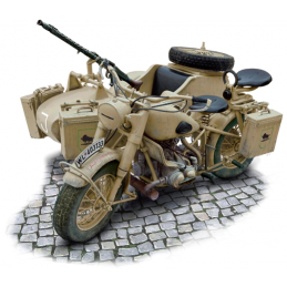 Italeri 1:9 Scale German Military Motorcycle and Sidecar - Starter Paint Pack (5 x 17ml Pots)