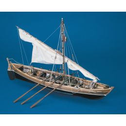 Mantua Models Open Whaler 1850 Model Boat Kit