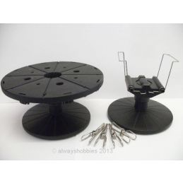 Tamiya Airbrush and Spray Work Painting Stand Set with 16cm Turntable