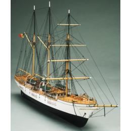 Mantua Models Mercator Belgian Sail Tall Training 1932 Wooden Model Ship Kit