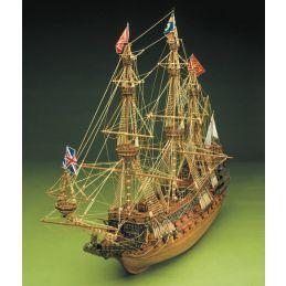 Mantua Models Sergal Sovereign of the Seas 1:78 Scale Wooden Model Ship Kit