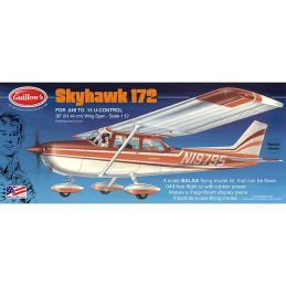 1:12 Scale Cessna Skyhawk Balsa Model Kit