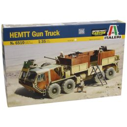 Italeri HEMTT Gun Truck 1:35 Scale Plastic Model Kit