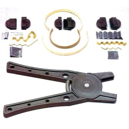 Versatile Plank Bending Tool with Jaws for square curved or bent shapes