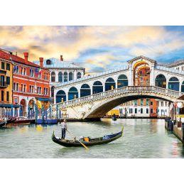 Venice Rialto Bridge 1000 Piece Jigsaw
