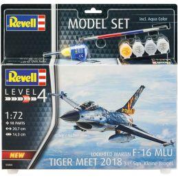 Revell 1/72 Scale Model Set - F-16 MLU 31 Sqn. Klein-Brogel