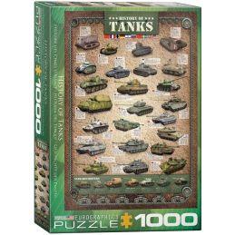 Eurographics History of Tanks 1000 Piece Jigsaw