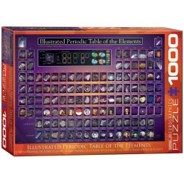 Eurographics Periodic Table of the Elements 1000 Piece Jigsaw
