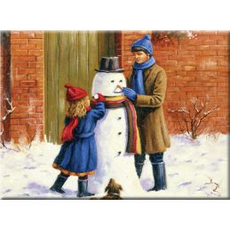 Painting by Numbers The Snowman