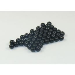 Caldercraft 3mm Black Steel Cannon Balls Pack of 50 Cannonballs