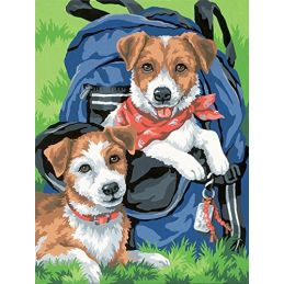 Paint By Numbers Back Pack Buddies