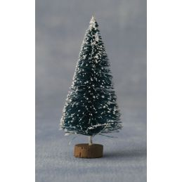 12th Scale Snowy Tree for Dolls Houses