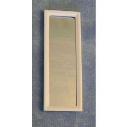 12th Scale White Dressing Mirror for Dolls Houses