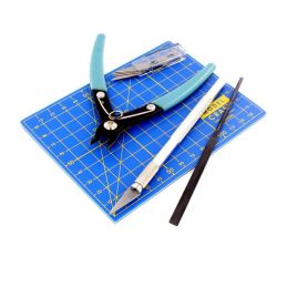 9 Piece Plastic Model Tool Set