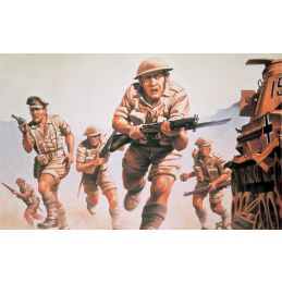 Airfix 8th Army 1:76 Scale Plastic Model Kit