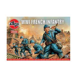 Airfix WW1 French Infantry 1:76 Scale Plastic Model Kit